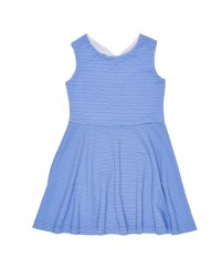 Periwinkle Crinkle Techno Knit. 96% Polyester 4% Spandex