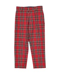 Red & Black Plaid. 65% Poly 35% Viscose Adjustable Waist