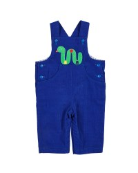 Royal Corduroy.  100% Cotton.  Worm Applique