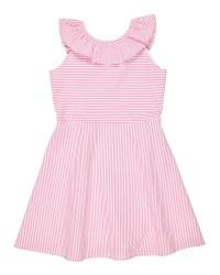Pink Stripe Seersucker, 100% Cotton