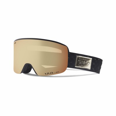 2019 Giro Ella Black Gold Shimmer with Vivid Copper Lens