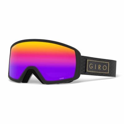 2020 Giro Gaze Black Gold Bar with Rose Spectrum Lens