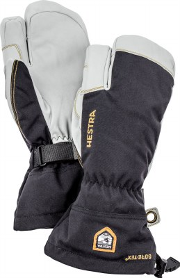 2020 Hestra Mens Army Leather Gore-Tex 3 Finger Glove Black 9
