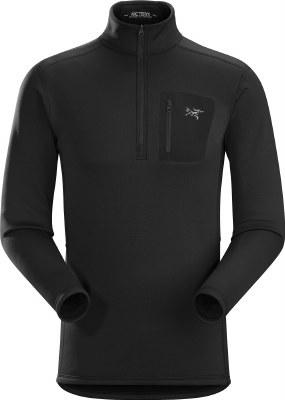 2021 Arcteryx Men's RHO AR Zip Neck Black Extra Large
