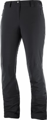 2020 Salomon Women's IceMania Ins Pant Black Extra Small Regular