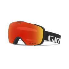 2019 Giro Contact Black Wordmark with Vivid Ember Lens