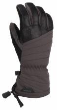 2020 Gordini Women's GTX Storm Trooper Glove Gunmetal/Black Small