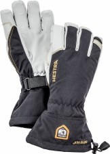 2021 Hestra Mens Army Leather Gore-Tex Glove Black 8