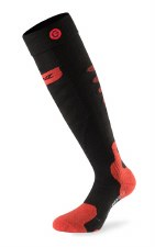 2020 Lenz 5.0 ToeCap Heat Sock Only (no kit) Black/Red Small