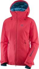 2019 Salomon Womens QST Guard Jacket Hibiscus Large