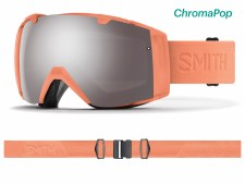 2019 Smith IO Salmon Flood with ChromaPop Sun Platinum Mirror Lens