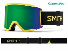 2019 Smith Squad XL Citron Glow with ChromaPop Sun Green Mirror Lens
