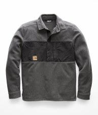 2019 The North Face Mens Davenport Pullover Asphalt Grey Extra Large