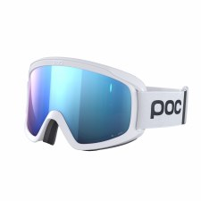 2020 POC Opsin Clarity Comp Hydrogen White w/ Spektris Blue Lens