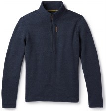 2021 Smartwool Men's Hudson Trail Half-Zip Navy Large