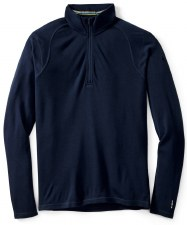 2020 Smartwool Men's Merion 250 1/4 Zip Deep Navy Large