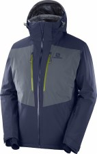 2020 Salomon Mens IceFrost Jacket Night Sky Extra Large