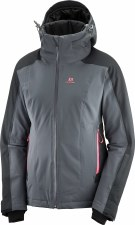 2020 Salomon Women's Brilliant Jacket Ebony/Black Small