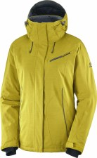 2020 Salomon Women's Fantasy Jacket Golden Palm Small