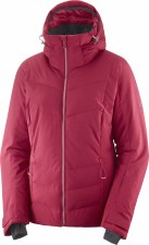 2020 Salomon Women's IcePuff Jacket Rio Red Small