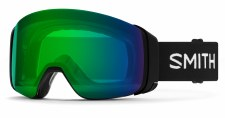 2020 Smith 4D Mag Black with ChromaPop Everyday Green Mirror Lens