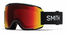 2020Smith Squad Black with ChromaPop Sun Red Mirror Lens