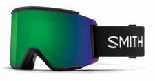 2021 Smith Squad XL Black with ChromaPop Sun Green Mirror Lens