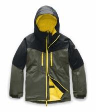 2020 TNF Boy's Chakal Insulated Jacket New Taupe Green Medium