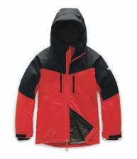 2020 TNF Boy's Chakal Insulated Jacket Fiery Red Extra Small
