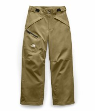 2020 TNF Boy's Chakal Insulated Pant British Khaki Small