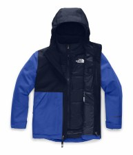 2020 TNF Boy's Freedom Insulated Jacket New Taupe Green/Black Medium