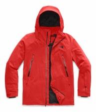 2020 TNF Men's Apex Flex Snow Jacket Fiery Red Medium
