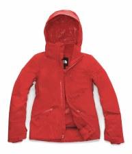 2020 TNF Women's Lenado Jacket Fiery Red Small