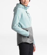 2020 TNF Women's RiiT Pull-over Cloud Blue/Med Grey Heather Medium