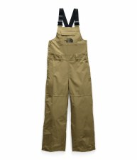 2020 TNF Youth Freedome Bib British Khaki Medium