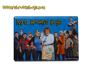 Mrs. Brown's Boys Cast Magnet