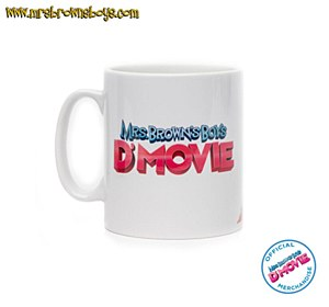 D'MOVIE Mug White