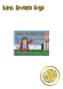 Mrs. Brown Animation Magnet