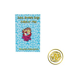Mrs. Brown Mothers day pin