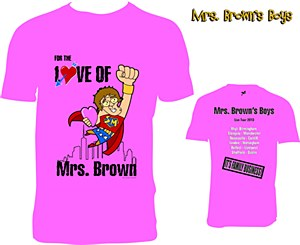 2013 Tour Pink Large T-Shirt
