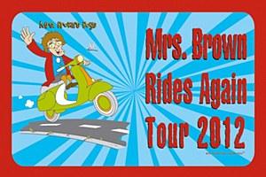 Rides Again Tour Magnet