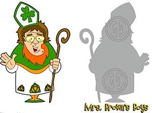 St. Patricks Day Pin 2017
