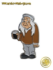 Grandad Brown Collector Pin
