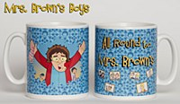 All Around To Mrs. Brown Mug