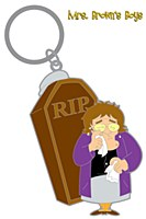 Good Mourning Coffin KeyChain