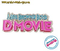 D' MOVIE Pin Badge