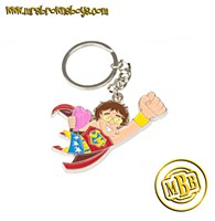 Mrs Brown Super Mammy Keychain