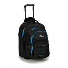 Wheeled Backpack Black/Blue