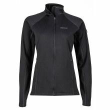 Wmn Stretch Fleece Jacket Blac