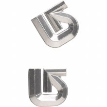 Burton Logo Mat Silver    (10797100 073)